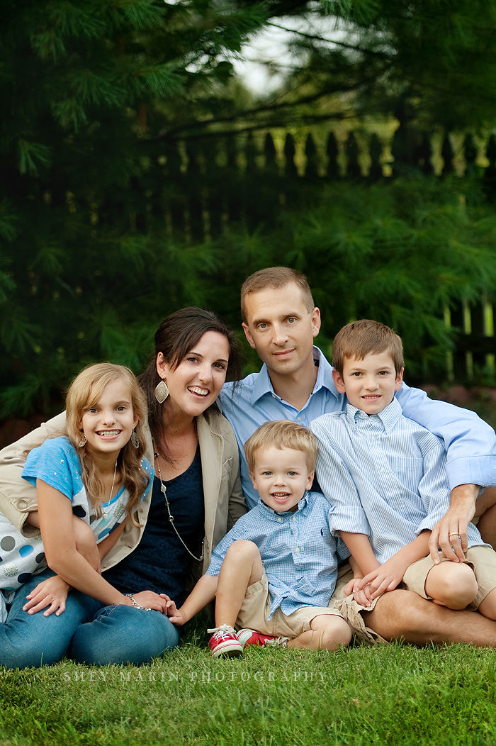 Ijamsville Maryland family photographed
