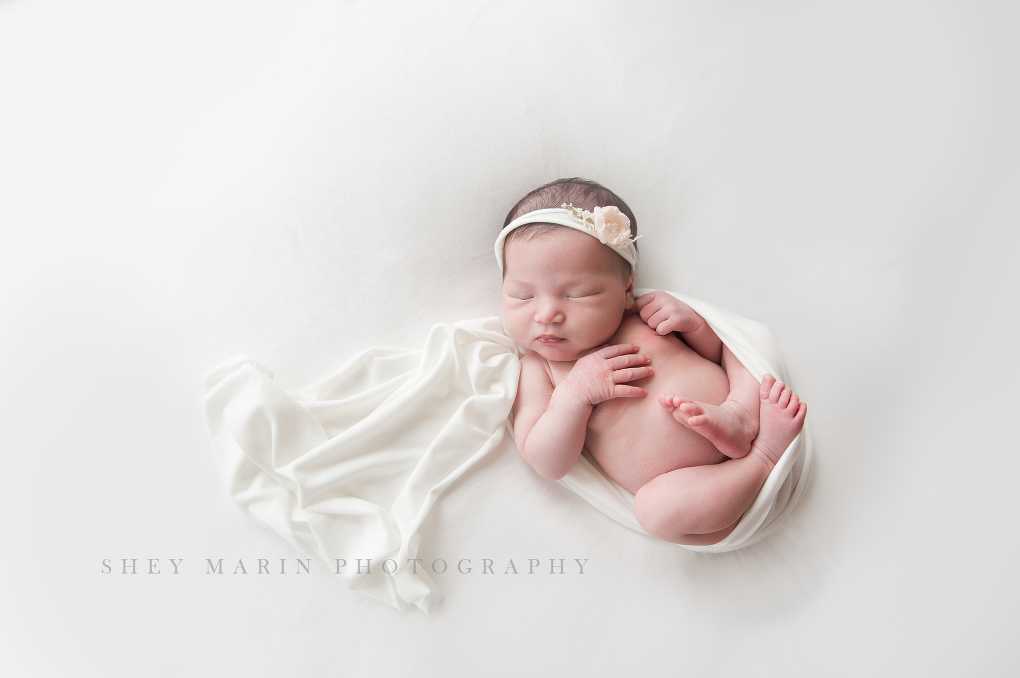 Frederick Maryland newborn photographer | little sister