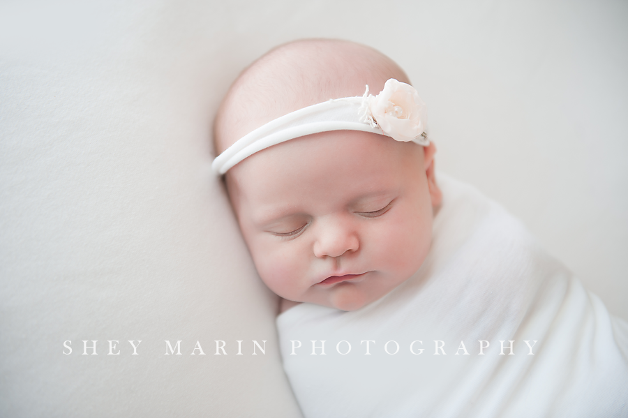 3 week old baby girl washington dc newborn photographer