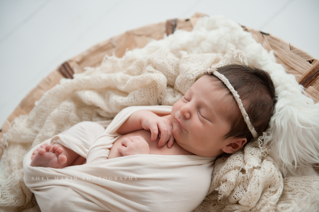 Sweet baby girl | Washington DC newborn photographer