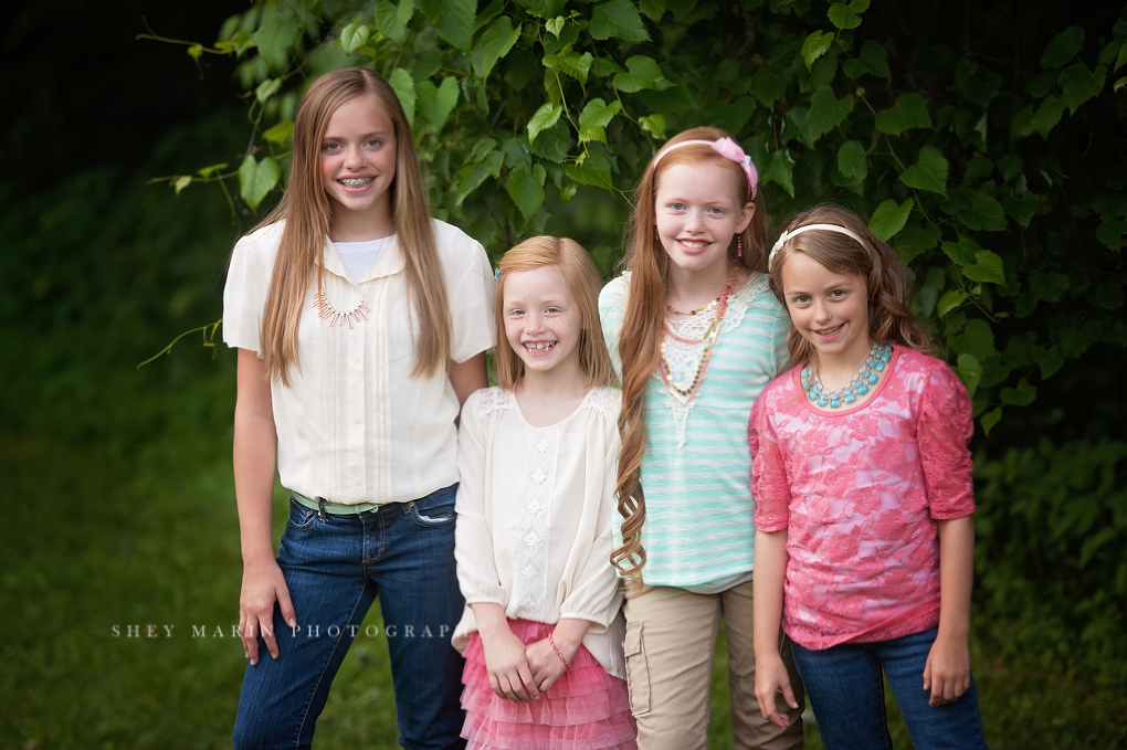 Frederick Maryland child photographer | Family of 9