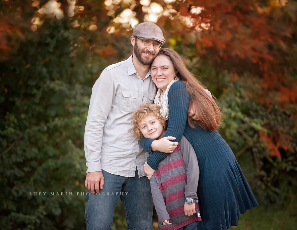 fall family photos | frederick md child photographer