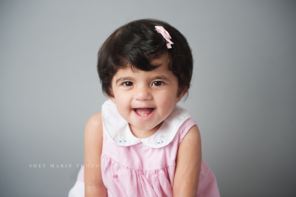 cake smash | Frederick maryland baby photographer
