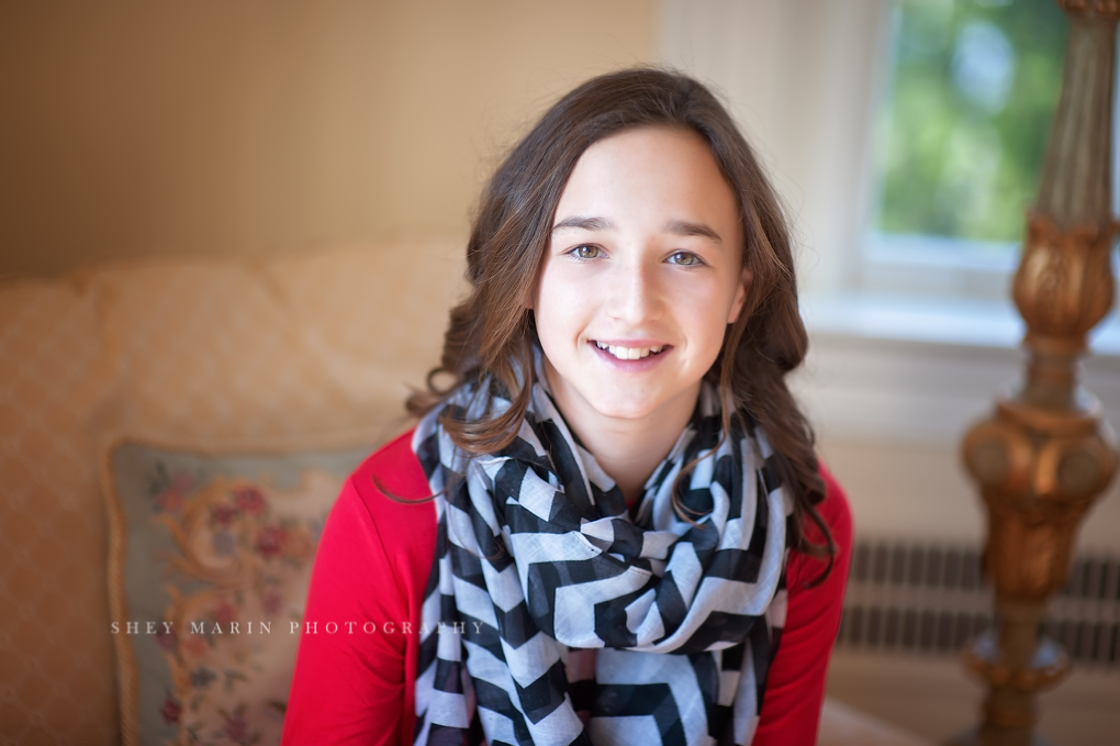 Four sisters | Chevy Chase baby photographer