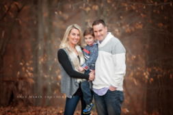boy and family in forest | frederick family photographer