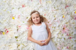 flower wall daughter | Frederick maryland child photographer