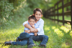 family golden hour portraits | Washington DC child photographer
