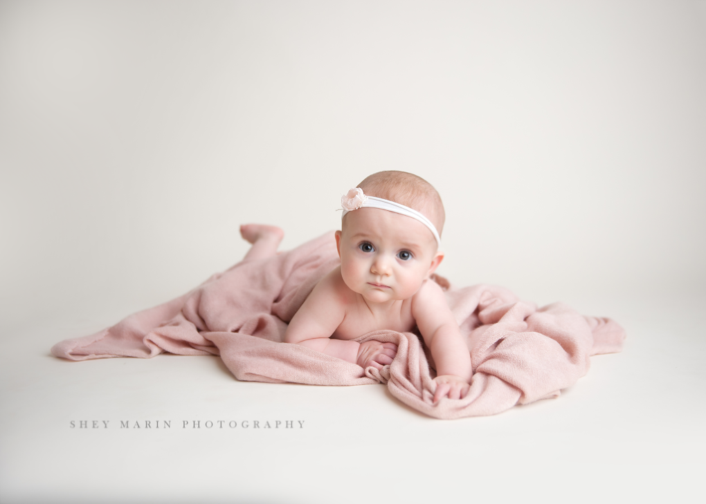 sitter studio session | Frederick Maryland baby photographer