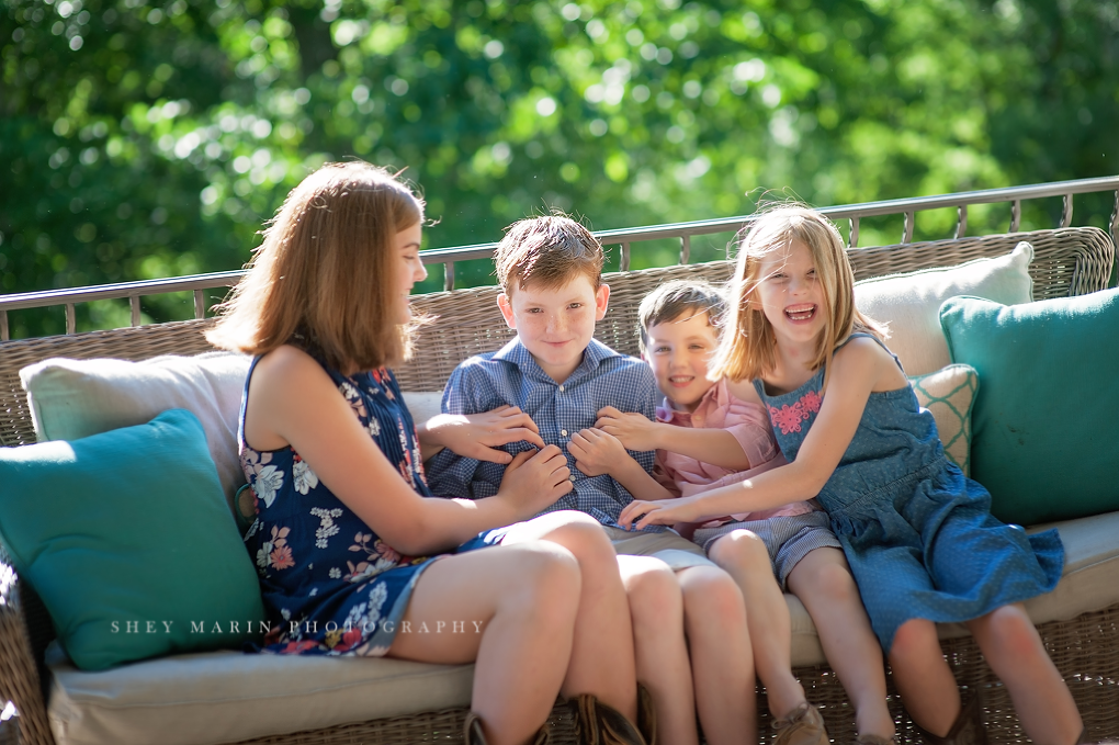 Frederick family photographer