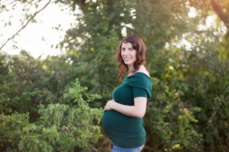 Nature maternity session | Frederick Maryland family photographer