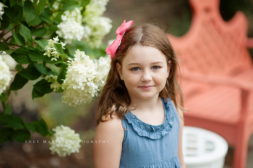 Frederick Maryland girl in front of beautiful home