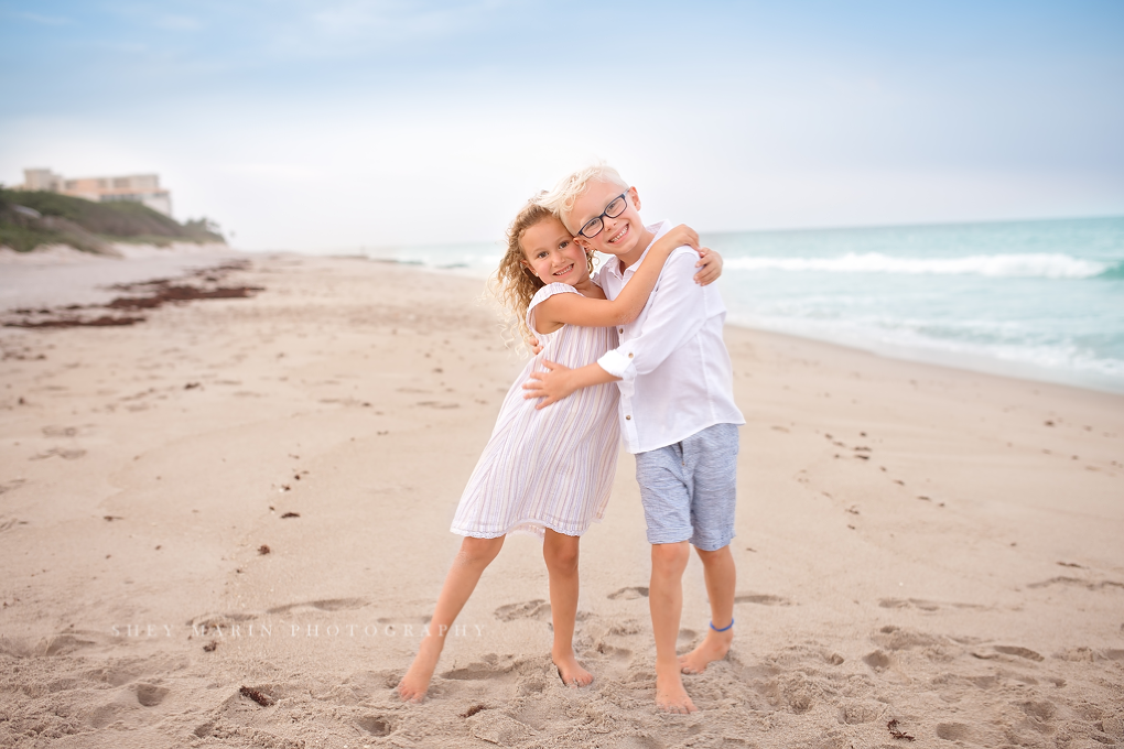 Salt and sea family beach photosession in Jupiter FL