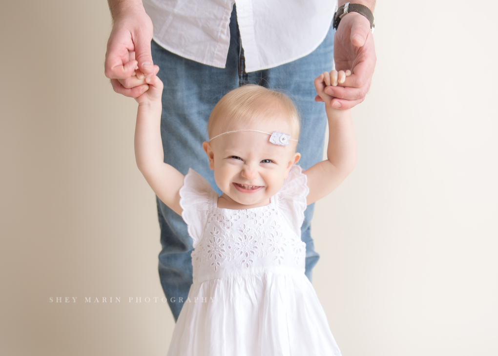 cake smash one year old frederick maryland photographer