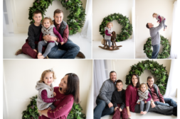 holiday mini sessions in downtown Frederick maryland