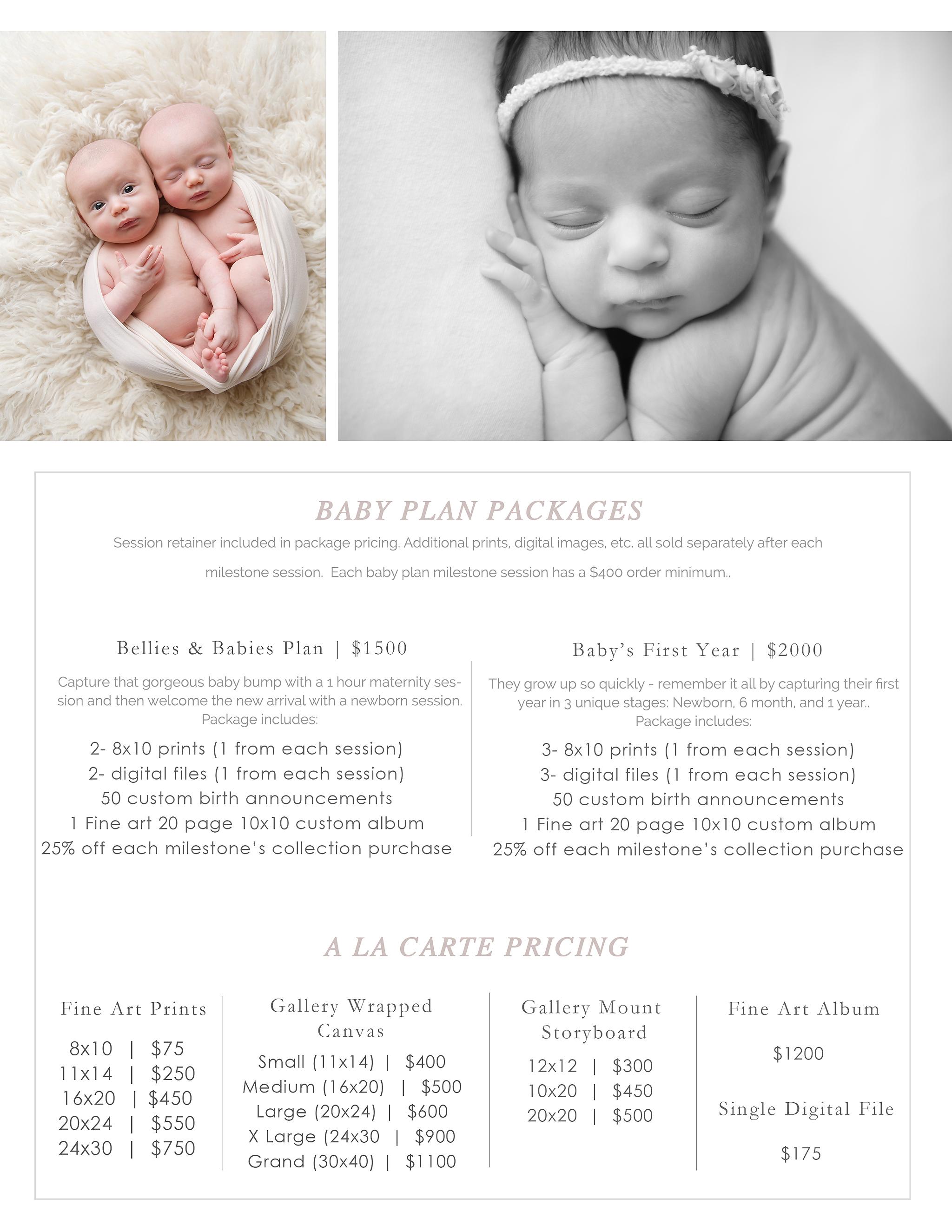 Prices best dc newborn photographer